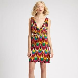 Alice + Olivia Ikat Print Alameda Dress